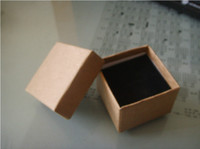 Wholesale x5x3 cm Kraft Paper Box Ring Box Jewelry Box