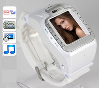 No Brand mobile dvr - Unlocked Wrist Watch Mobile Cell Phone DVR Hidden Camera MP3 GSM Quad Band N388