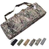 airsoft gun rifle - Hunting Shooting Padded Short Gun Carry Case Airsoft Rifle Gun Slip Padded Bag UP to Inch For M4 SCAR G36 MASADA MP5 AK
