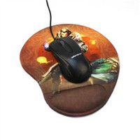 Wholesale High quality silica gel belt full wrist support mouse pad hand pad hand wrist support mouse pad