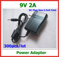 Wholesale 300pcs via DHL V A x0 mm Power Adapter Charger for Tablet PC Chuwi V3 Flytouch Cube U10GT SmartQ T19 T30