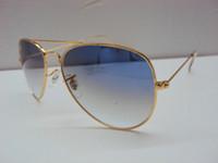 Wholesale High quality fashion men women sunglasses Brand designer Metal frame mm glass lens Outdoor sports sunglasses With Box