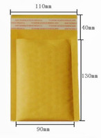Wholesale Small Kraft Bubble Mailers Padded Envelopes Bags Mail Bags x170mm quot x5 quot FREE SHIPPIN