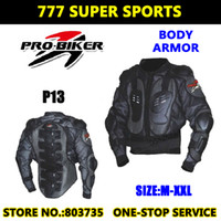 Wholesale Professional Motorcycle Chest Protector Back Pads Body Knight Armor Super Energy absorbing Protective Gears P13