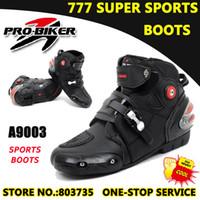 Wholesale Motorcycle Boots biker Footwear Sport Shoes Racing Cycling Racing Protective Gears Pro biker A09003