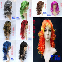 Wholesale New Fashionable style Waves Party Wig Window Mannequins Wigs Halloween Masquerade BOBO head wig