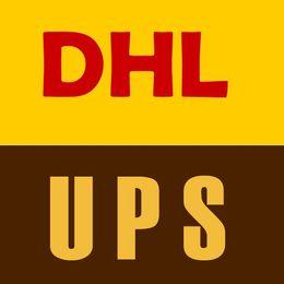 franqueo de DHL o UPS