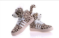 Wholesale Korean Children Casual Shoes Fashion Popular Leopard Print Animal Baby Kids Board Shoes Boys Girls Sneaker QS513