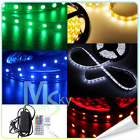 Wholesale 300LEDs Light strip M Non Waterproof Flexible strip Led strip RGB60leds M