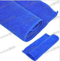 100%Pure Microfiber  30 Towel LLFA1834 30cmx40cm Pure Microfiber Cleaning Cloth Towel Auto Car Polishing Waxing Cloths Wiping Rags Towels
