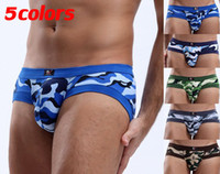 Men Modal Briefs New Arrival Multicolor Modal Camouflage Sexy Mens Boxer Briefs Comfort Pouch Low Rise Underwear Shorts Free Shipping With Tracking Number