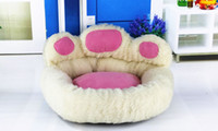 Wholesale Unique design Bear s paw Small dog beds cute dog pet products