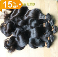 Wholesale Brazilian Peruvian Malaysian Indian Virgin Human Hair Weft Weave Extensions Full Head Dyeable Unprocessed Hair Body Wave Natural Color