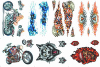 Wholesale Scooter motorcycle car stickers car stickers beauty magician Flame Skull Eagle personalized decals Langtou