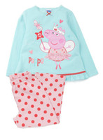 Wholesale Peppa Pig set children kids peppa pig girls girl long sleeved top pants suits Pajamas pyjamas sleepwear pjs