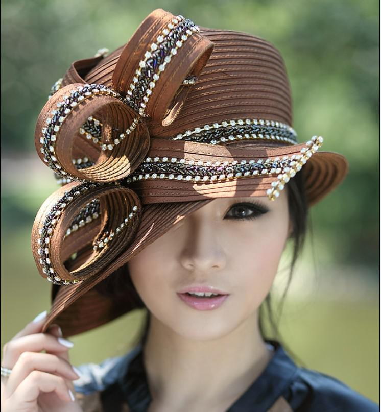 Women Church Hats Women Dress Hats Derby Church Hats 100 ...