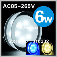Wholesale 6w Acrylic led ceiling light crystal lamp AC85 V lm variety colours High quality w led indoor light