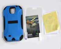 precio TRIDENT Aegis, Dos de la Parte Cubierta de la caja Para Samsung Galaxy S IV S4 i9500 con el Paquete de venta de la fábrica de ofrecer directamente