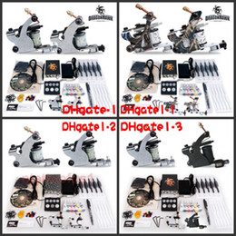Wholesale Hot Sale Beginner cheap tattoo starter kits guns machines ink sets equipment needles grips tubes power DHgate Series