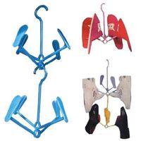 Wholesale Creative household items Brown shoe rack Activity type drying shoe rack hangers