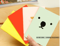 Wholesale Korea stationery candy color cartoon S size paper memo pad Notebook Cute Cartoon Notepad Diary Book Office School