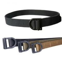Wholesale Brand new Solider Tactical Airsoft Combat Series TDU Belt Strengthening Canvas Waistband Three Colors