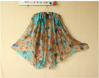 Wholesale 2013 HOT big fashion chain pattern scarves shawls women amp lady lovey Ms Skull Scarf color yarn