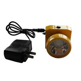 Wholesale 3pcs mAH Led Rechargeable LED Headlamp Coal Mining Lights Miners Cap Lamp Upgrade LY