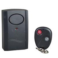 Wholesale Wireless Remote Control Vibration Alarm for Door Window dB Black