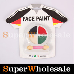 Wholesale 4Color Clothing Shaped Face amp Body Paint Painting Make Up Halloween Face Paint