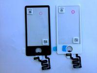 Wholesale Hot sale original ipod nano7 touch screen handwritten screen Glass Screens White black NEW