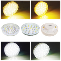 Wholesale GX53 SMD W Warm Pure white LED Spot Lamp V Light