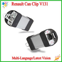 For Renault auto performance programmers - Latest V131Renault Can Clip Auto Diagnostic Interface Renault Clip with Very Good Performance