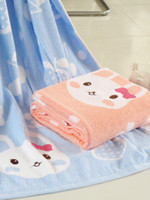 Wholesale Vertical Shape Animal Print Cotton Soft Bath Towels shock collar u10 cIS