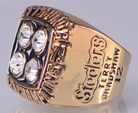 Wholesale 1979 XIV P Steelers Super Bowl Championship ring size US best gift for fans collection High Quality