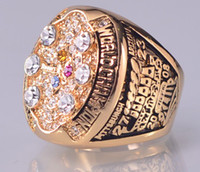 Wholesale 2008 XLIII P Steelers Super Bowl Championship ring size US best gift for fans collection High Quality