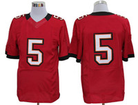 Wholesale Red Jerseys New Season Tampa Bay Team Quarterback Josh Freeman Mens Elite Jerseys Well Made Popular American Football Uniforms Gift