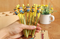 Wholesale NEW Despicable Me Minion cartoon ballpoint styles school things