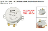 ac ss - SS TD AC V W RPM Synchronous Motor for Microwave Oven