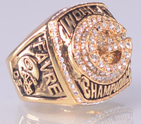 Wholesale 1996 Super Bowl Championship ring size US best gift for fans collection High Quality