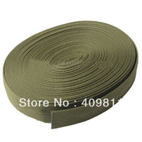 Wholesale Durable10 Meters Military Packing Belt Army Green