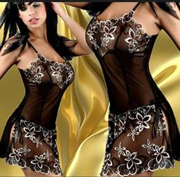 Venta al por mayor - falda floral bordada de la muñeca de la ropa interior atractiva de Wholesae-Mujeres