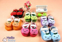Wholesale Cheap Rubber Flooring Wholesale - 30%off Baby floor shoes   slip toddler shoes   Apple shoes   wool socks   socks three-dimensional baby wear china cheap 12pairs 24pcs JL