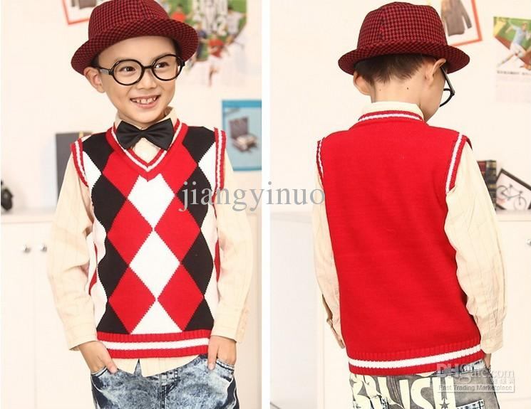 wholesale-2013-new-baby-boys-plaid-vest-