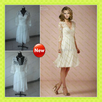 2013- 2014 Romantic Chic Lace Appliques T- Shirt 1 2 Sheer Nud...