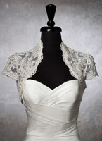 accent accessories - Wedding Dress Jacket Metallic lace bolero accented with crystals and sequins Wedding Accessories Bridal Wraps
