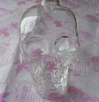 Wholesale ml Crystal Skull Head Vodka Shot Glass Beer Bottle Drink Ware Home Bar Party Y4011B