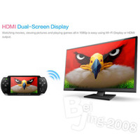 Wholesale Newest quot JXD S5300 Game Console Player Android ARM Cortex A8 GMHz CPU GB Player