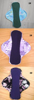 Cheap washable Mama's Cloth waterproof Menstrual Pads Liner,Sanitary Napkin,Sanitary Pads cotton 20CM