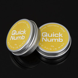 Wholesale Super Quick Numb g Anesthetic Tattoo Numbs Skin Fast Cream Painless Tattooing Supply